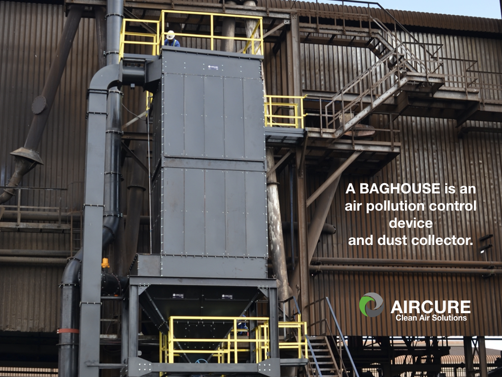 baghouses reduce air pollution