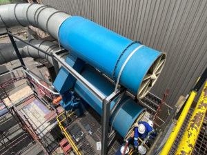 CYCLODUCT Inline compact cyclonic separator